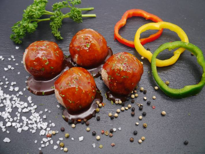 8 x BBQ Meatballs | Tarelgin